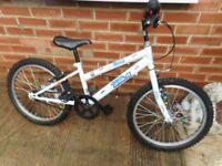 20 inch wheel white coral british eagle bike