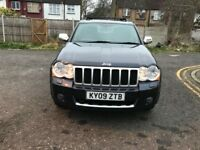 2009 Jeep Grand Cherokee 3.0 CRD V6 Overland 4x4 5dr Automatic @07445775115
