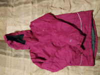 Kids trespass TP50 winter warm waterproof girls jacket / coat- 11/12 years