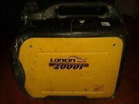 REDUCED! Loncin 2000i suitcase inverter generator 110v