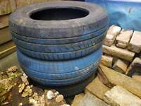 Tyres for decarative purpose