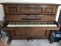 Antique Thurmer Upright Piano (with just normal Piano stool)