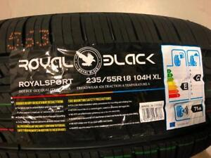 All Season 235/55R18 Set of Four Brand New $370.00 on Summer sale!!