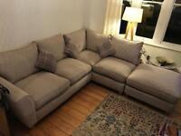 SCS Corner Fabric Sofa