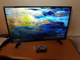 "43"" Full HD LED TV with FreeView HD + Free Google Chromecast"