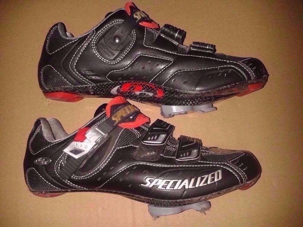 Specialized Road Shoes BG Pro Carbon X-Link Size 8, EU 42 including Keo bike cleats, swap possible!
