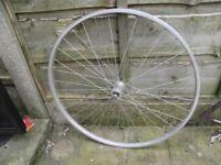 NEW 700c front bike wheel hybrid tourer