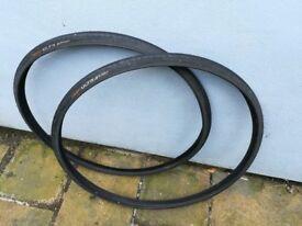 2x Continental Ultra Sport Road Bike Tyre 700 x 23c
