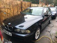 BMW 525d E39 Sport Touring M MOT Failure - Spares or Repairs