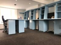 Attractive Office Space For Rent - Central Brighton Laines - High Speed Broadband, Phoneline, Laser
