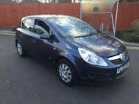 IDEAL NEW DRIVER* 2009 Vauxhall Corsa Club 1.4 16v A/C 5dr Hatch ONLY 79K FROM NEW. F.S.H CHEAP CAR