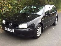 VW GOLF 1.4 ONE OWNER FULL SERVICE HISTORY VERY CLEAN