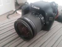 Canon Eos 550D with accessories