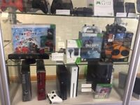 XBOX 360s (USED) - VARIOUS MODELS AND STORAGE OPTION AVAILABLE - CAN BE SWAPPED FOR OLD GADGETS