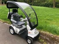Tga breeze s4 scooter hard top can deliver 100 mile radius