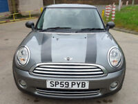 MINI HATCH ONE 1.4 ONE GRAPHITE 3d 94 BHP GREAT CONDITION + 2 KEYS + FULL YEAR MOT