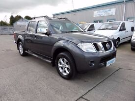 NISSAN NAVARA TEKNA 2014 77150 MILES ONE OWNER FULL DETAILED SERVICE HISTORY ** GREAT VALUE**