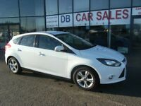 DIESEL !!! £20 ROAD TAX !!! 2011 61 FORD FOCUS 1.6 ZETEC TDCI 5D 113 BHP **** GUARANTEED FINANCE ***