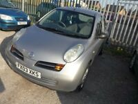 NISSAN MICRA 2003, NEW SHAPE FOR SALE URGENT (I buy personal use, than change plan, start taxi, sell
