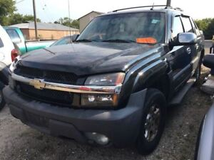 2004 Chevrolet Avalanche CALL 519 485 6050 CERTIFIED