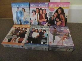 Will & Grace DVD Series 1-6