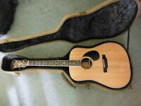 Freshman FA500 DE Acoustic Guitar - Pro All Solid RRP£1299 better than Taylor, Gibson, Martin