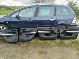Peugeot 307sw black door cards for whole car