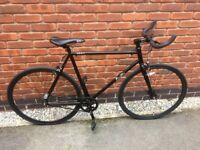Quella Nero urban commute bicycle