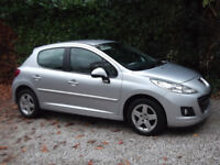 2010 (10) PEUGEOT 207 1.4 SPORT 5DR FULL MAIN DEALER HISTORY