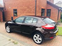 Brown/Black, very reliable, good condition inside/out, sat nav, electric windows, cruise control etc