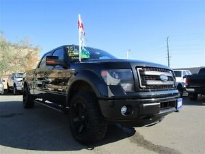 2014 Ford F-150 FX4 | SYNC | LEATHER | TONNEAU COVER |