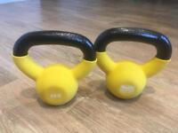 Body Sculpture Kettle Bells (4kg each)