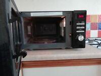 Russell Hobbs Black Microwave