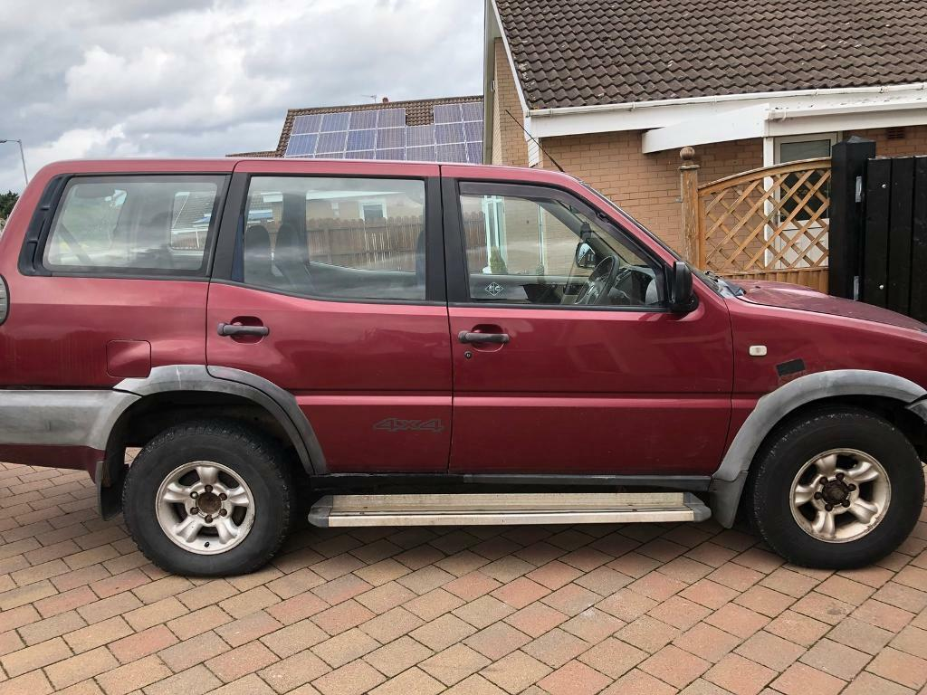 2002 nissan terrano ii 4x4 jeep 2 7td 7 seater needs little for mot retest in bangor county. Black Bedroom Furniture Sets. Home Design Ideas
