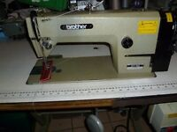 Industrial lockstitch sewing machine