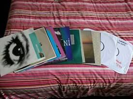 14 vinyl records with case