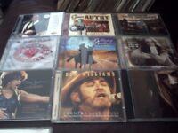 Over 80 cds..pop..rock..country..scottish..irish..east listening..60s..70s..80s..etc..