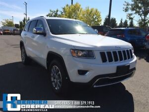 2016 Jeep Grand Cherokee Limited **TOIT, CAMERA, ENS. CHAUFFANT