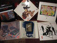"Selection of 1980's POP on Vinyl LPs & 12"" singles - Frankie, Spandau, Ultravox etc"