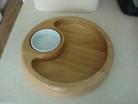 CHIP & DIP BOWL - IN EXCELLENT CONDITION