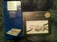 Winsor & newton water colour's & faber castell drawing pencils