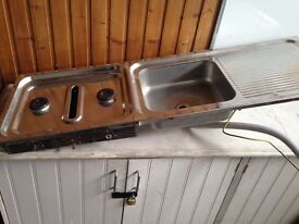 SINK AND GAS HOBS for campervan/motorhome