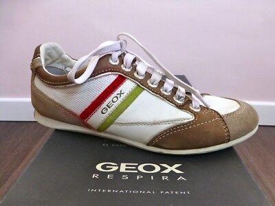 GEOX RESPIRA ♛ Halbschuhe Schuhe Shoes Freizeitschuhe Sneakers ANDREA 39 6 NP120