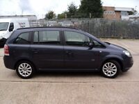 VAUXHALL ZAFIRA 1.8 CLUB, ONLY 78K, FSH, NEW MOT, IMMACCULATE THROUGHOUT..