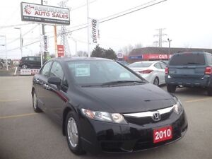 2010 Honda Civic DX-G Only 82K! Ontario Car No Accidents
