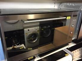 Baumatic P901SS integrated oven with 6 mth warranty