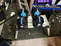 Mens health adjustable dumbells weights