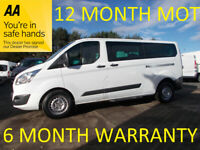 Ford Tourneo Custom 2.2 TDCI 125 300 LWB ZETEC L/R***DIRECT FROM MOD**
