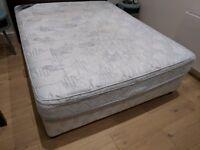 FREE - King size base and mattress set
