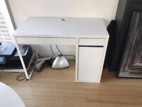 Small White Ikea Desk